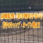 「若手物足りない」宇佐見、辻、山本、柿澤それぞれのキャンプ・オープン戦を振り返る!